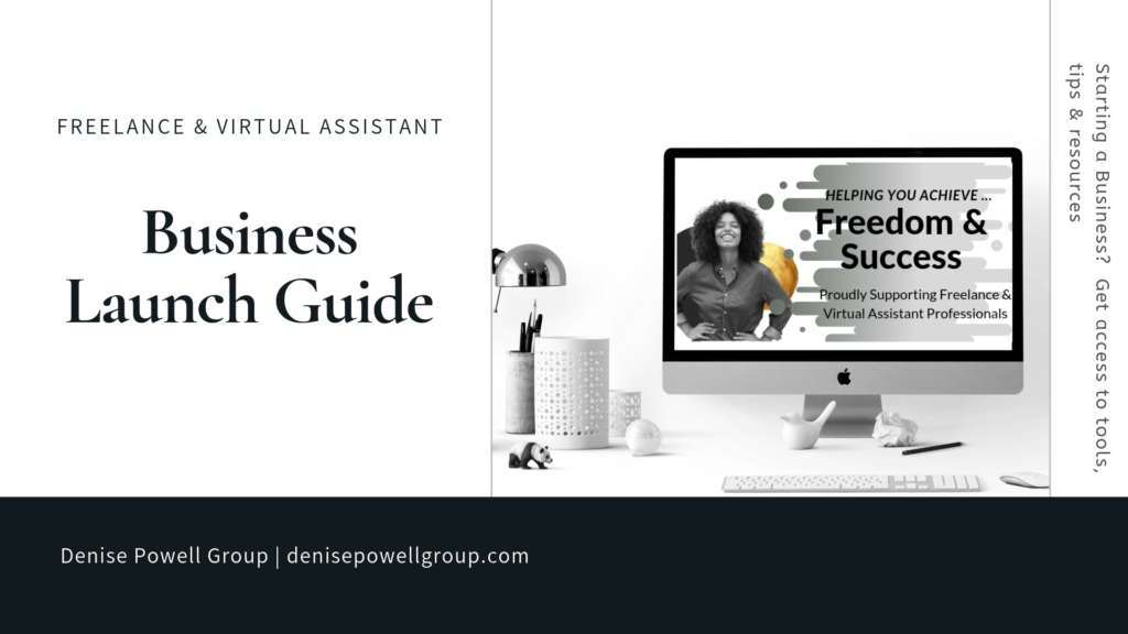 Virtual Assistant Business Launch Guide