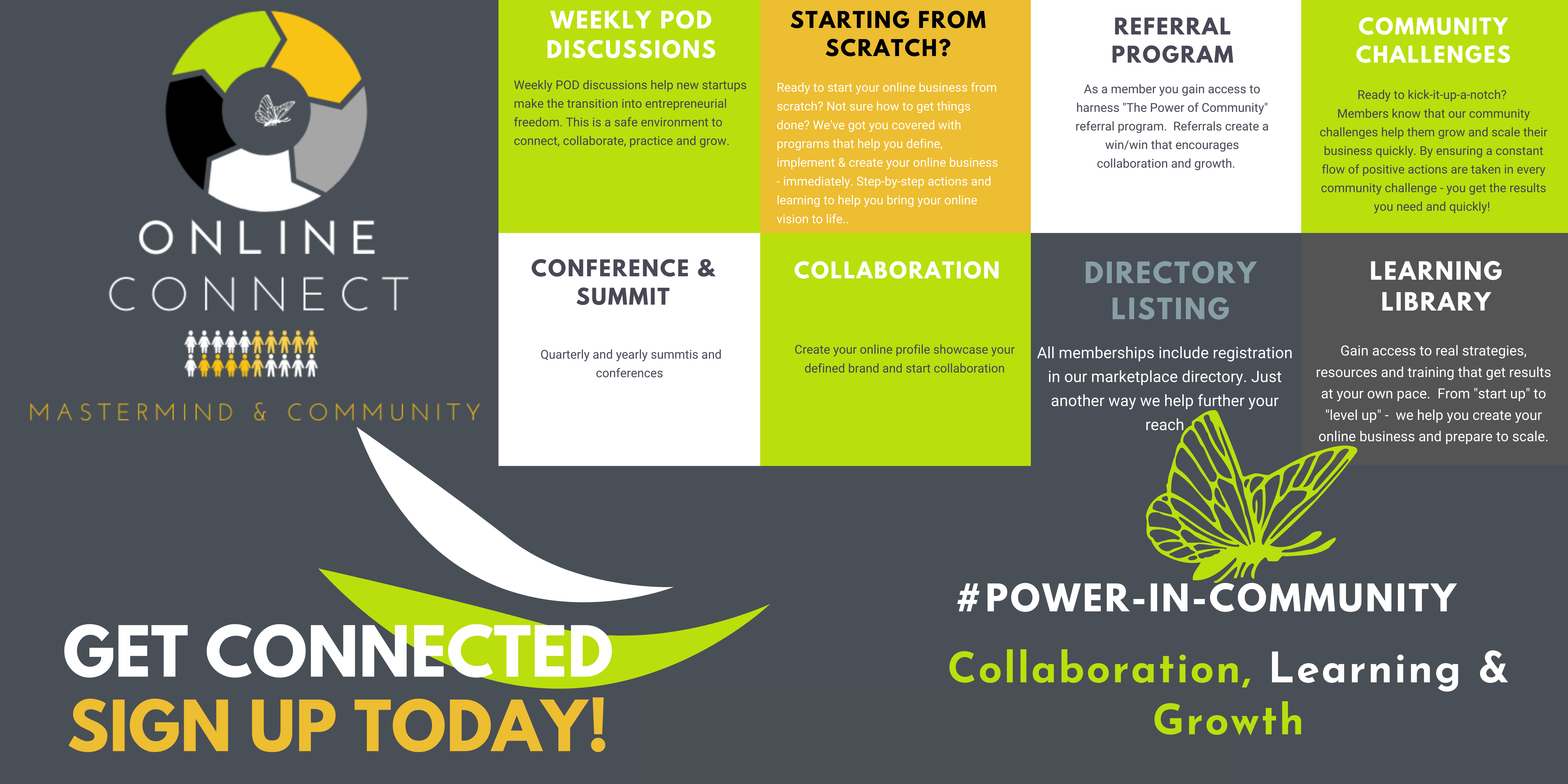 DPG Online Connect Mastermind Group and Start up Community