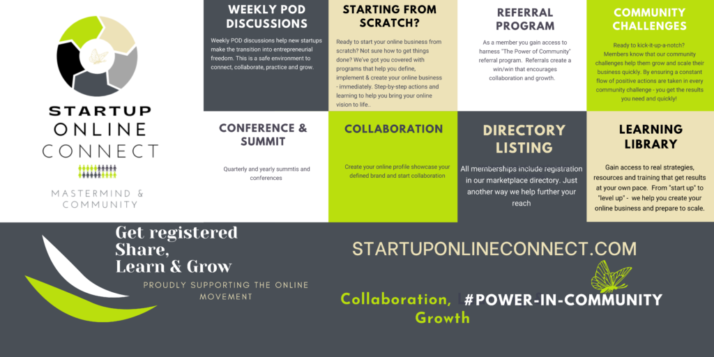 Mastermind Group Startup Online Connect