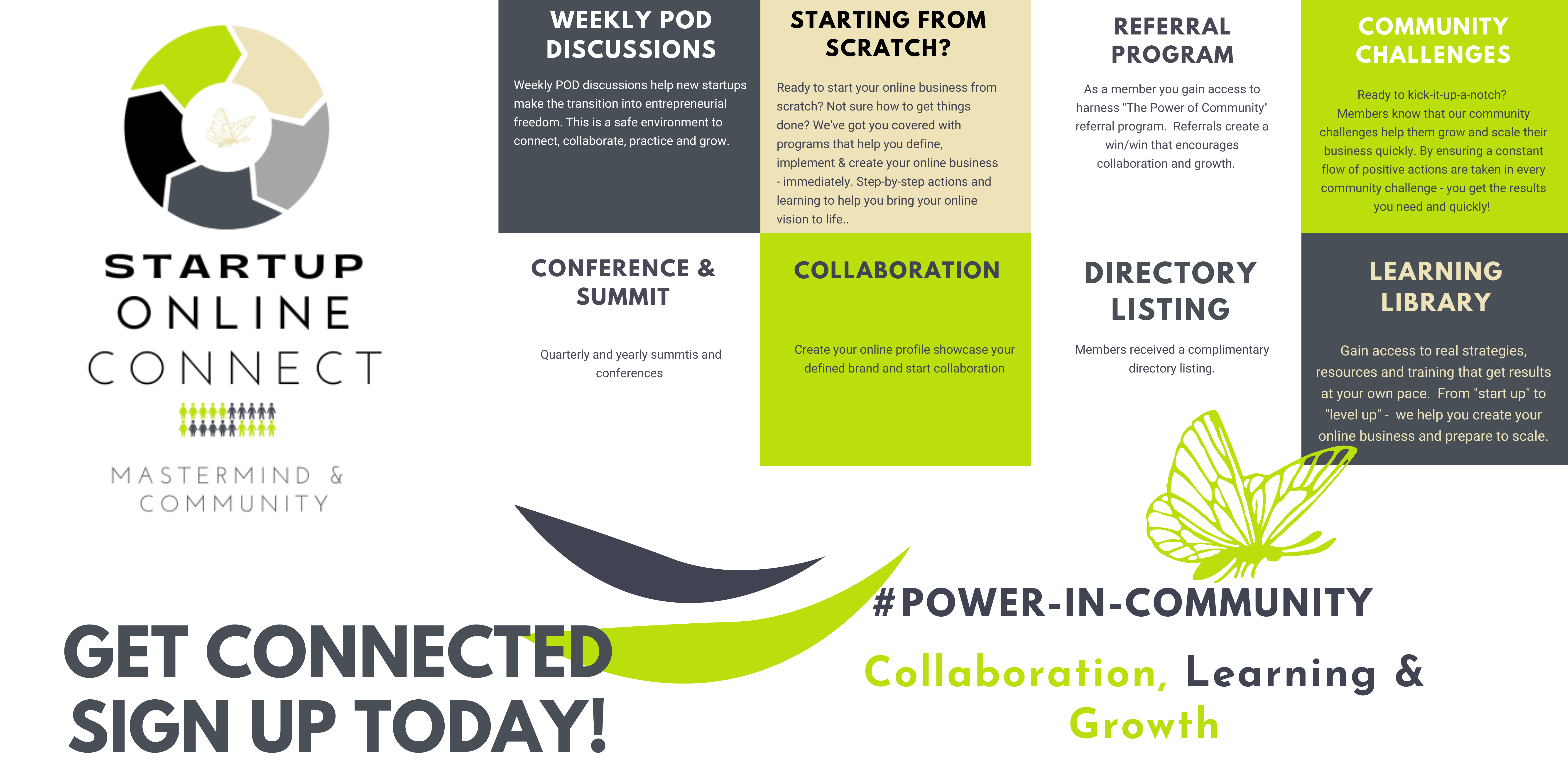 Startup Online Connect Mastermind Group
